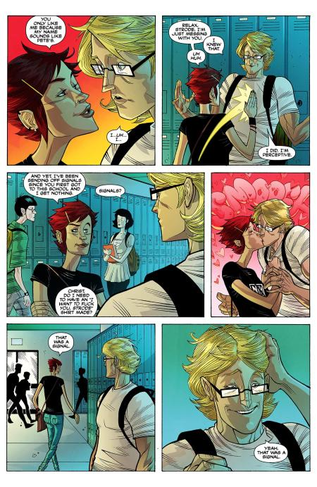 The Strange Talent Of Luther Strode interior 2