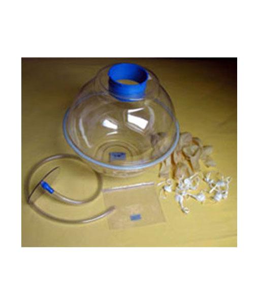 Dispozitiv introdus cadouri in balon