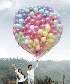 Plasa 500 baloane heliu
