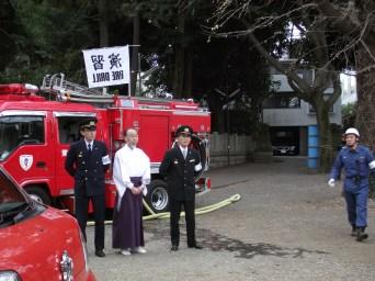 八幡神社消防演習 (3)