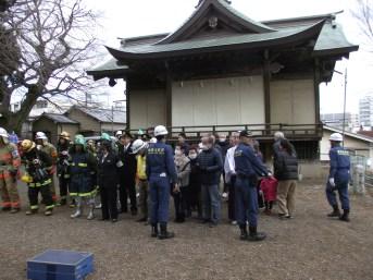 八幡神社消防演習 (4)