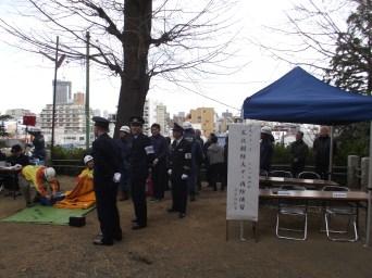 八幡神社消防演習 (5)