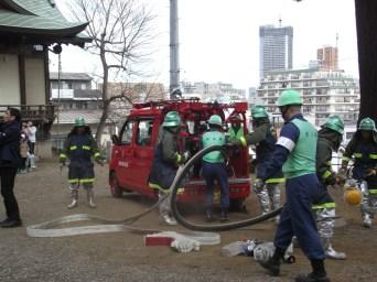 八幡神社消防演習 (7)