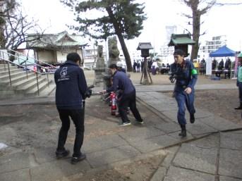 八幡神社消防演習 (9)