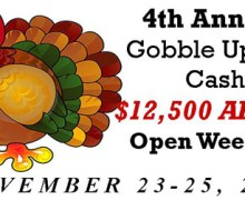 Gobble Up The Cash 2012