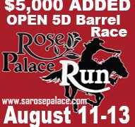 Rose Palace Run Aug 11-13, 2017 Results
