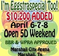 I'm Eggstraspecial Too! April 6-8, 2018