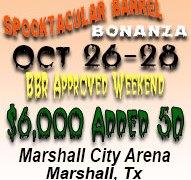 2018 Spooktacular Barrel Bonanza