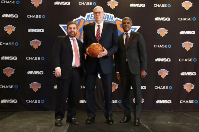 Phil Jackson-Knicks
