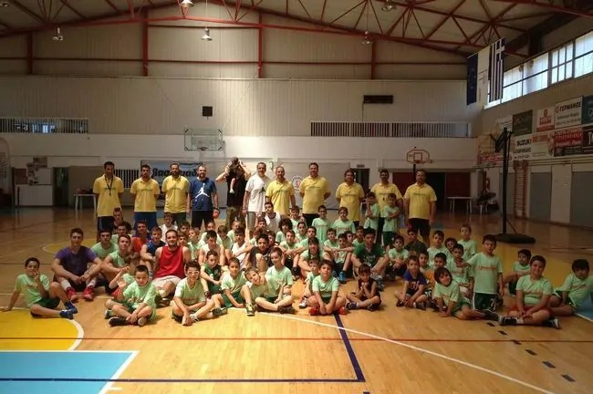 1ο Skill Improvement Basketball Camp2