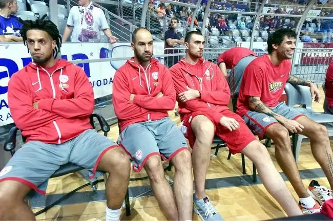 Olympiacos-Hackett-Spanoulis-Milutinov-Printezis