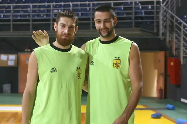 pelekanos-cupkovic-aris-media-day