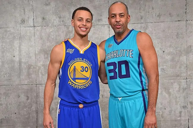 stephen curry-dell curry
