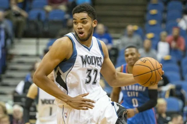 Karl-Anthony Towns-timberwolves