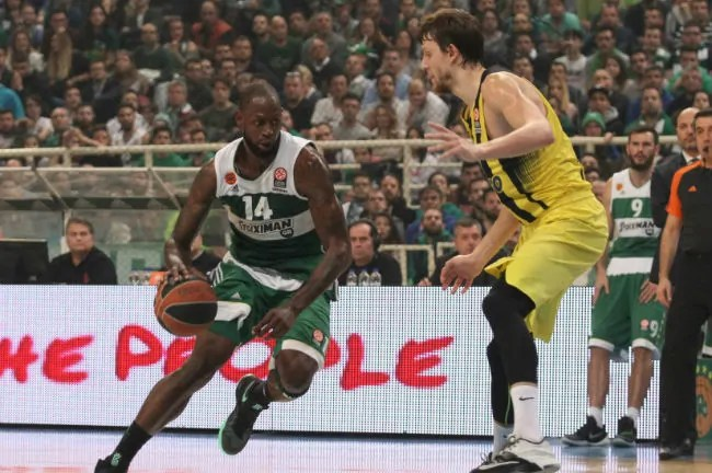 james gist panathinaikos - fener