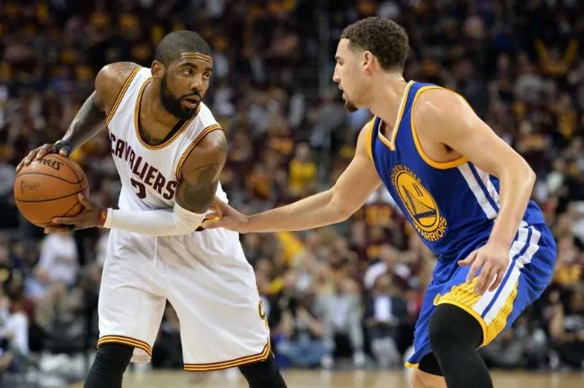 kyrie irving-klay tompson