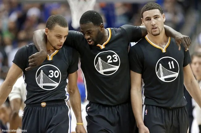 steph-curry-klay-thompson-draymond-green