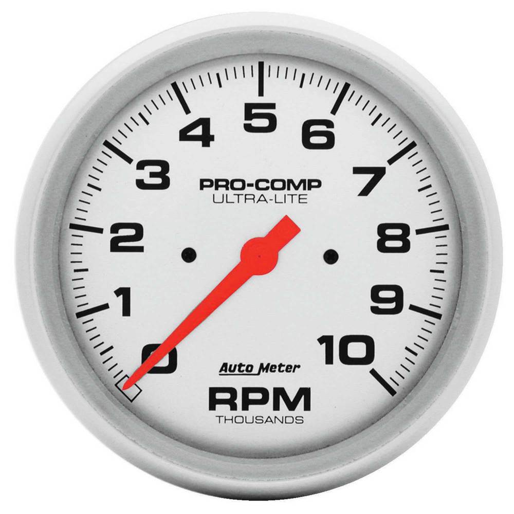 medium resolution of details about auto meter 5 inch 127mm dash pro comp tachometer 0 10 000rpm range