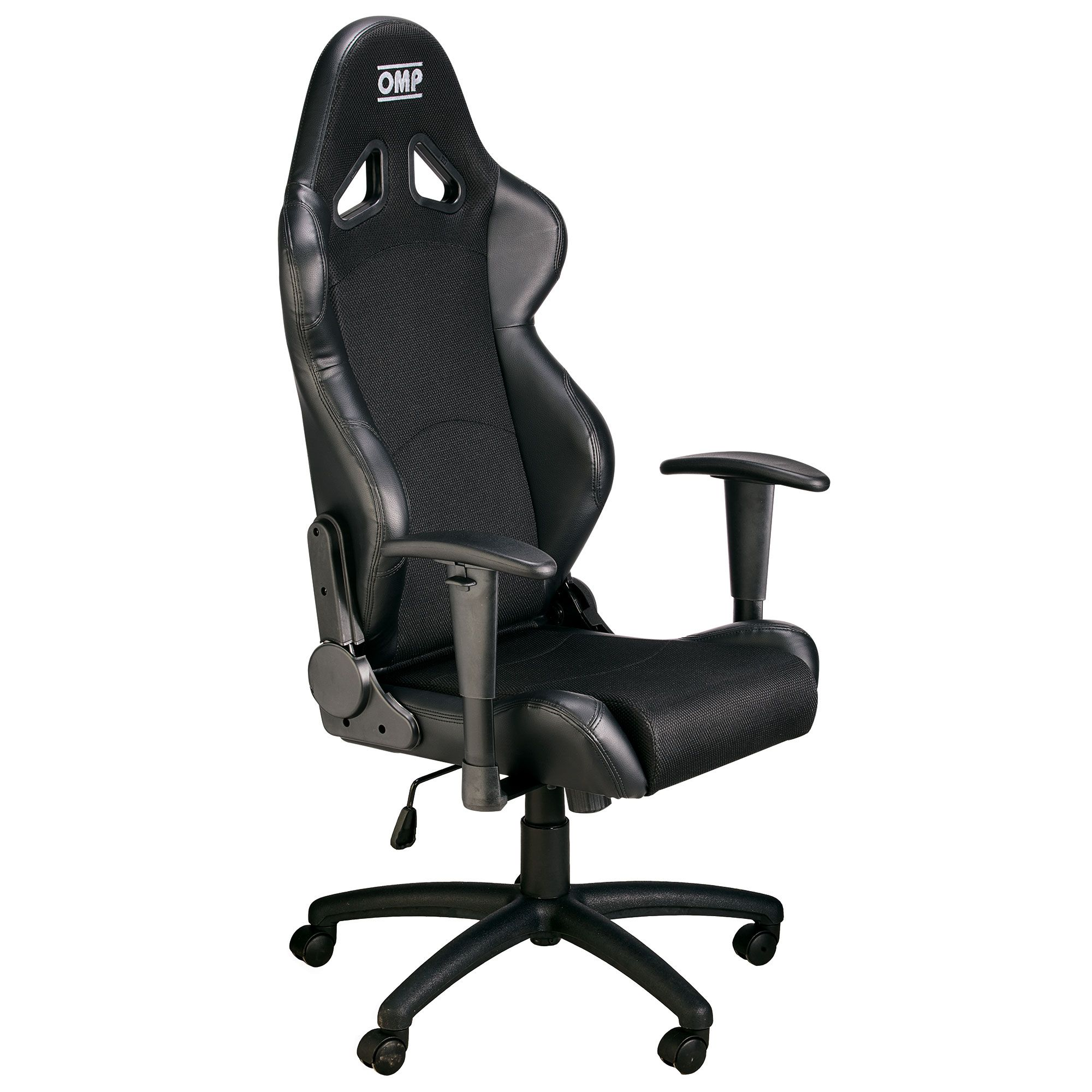 Racing Seat Office Chair Details About Omp Racing Seat Swivel Wheeled Office Chair Faux Leather Black Yellow