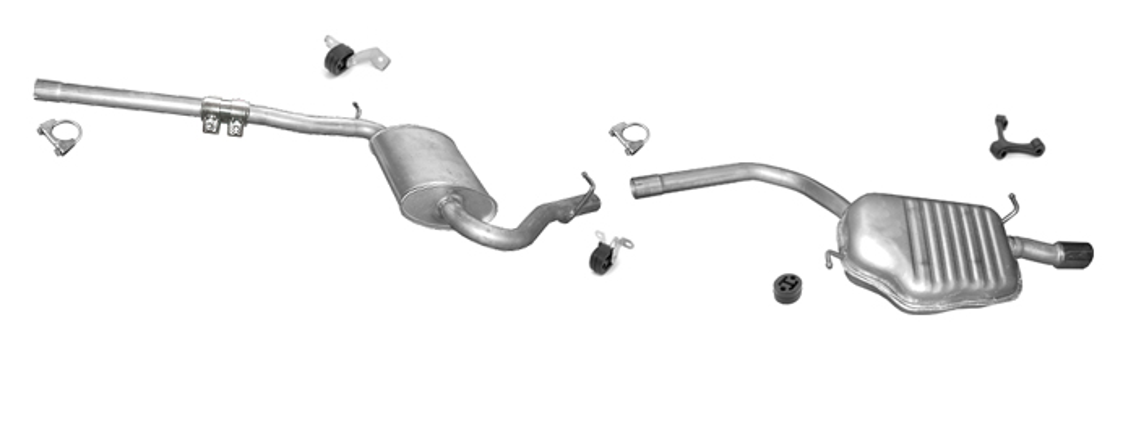 Auspuff AUDI A4 (B6 B7) 2.0 96KW 130PS Stufenheck / Kombi