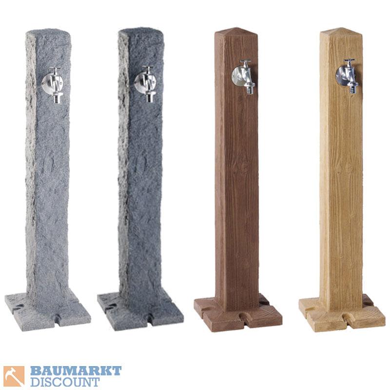Garantia Wasser Zapfsäule Lightgranit Darkgranit Lightwood