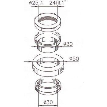 Lenkkopflager Satz Lenkungslager head bearing kit SYM