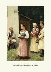 K&K Polnische Trachten aus der Gegend Krakau 1880 41 ...