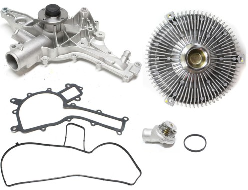 Kit Water Pump for Mercedes C Class CLK E Mercedes-Benz