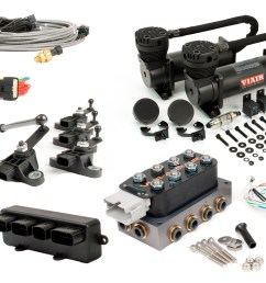 diagram rockford fosgate wiring accuair e level kit including vu4 and dual stealth black 480c on ride  [ 4206 x 2817 Pixel ]