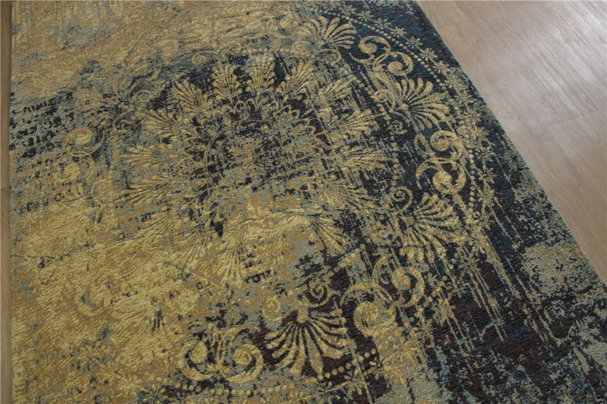 High Quality Carpet Velour VINTAGE FINE USED LOOK 160x230