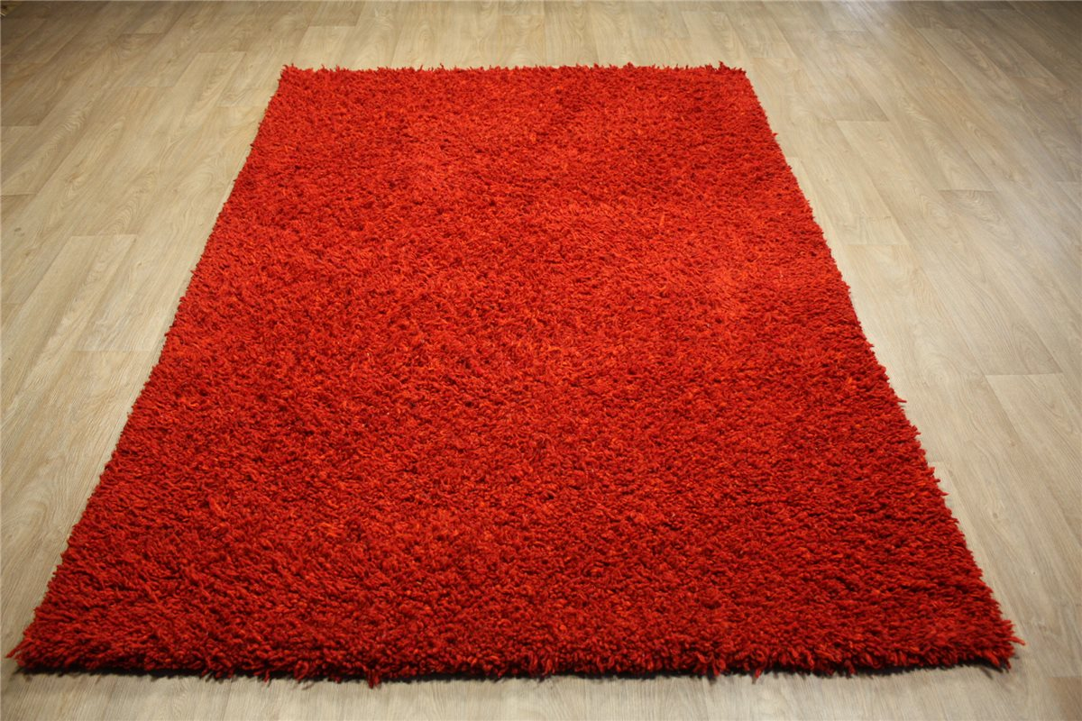 Shaggy Teppich Wolle Berber Superieure Teppich Shaggy Hochflor 170x240 Cm