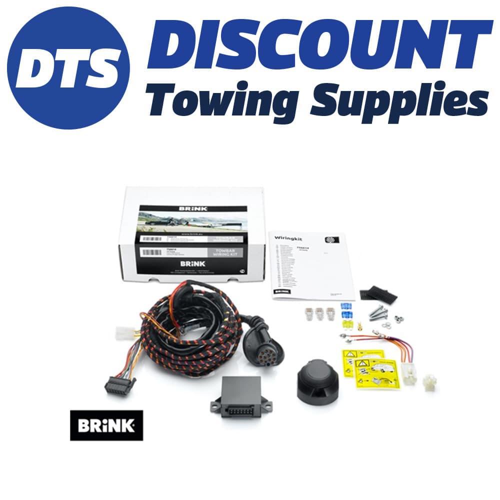 hight resolution of brink 7 pin towbar trailer wiring kit for nissan qashqai suv 02 14
