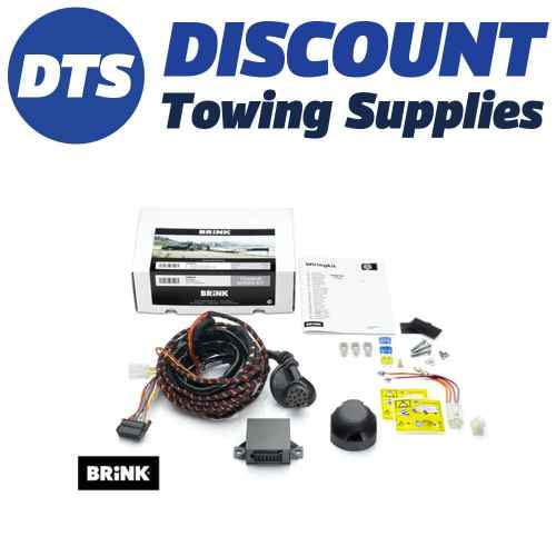 small resolution of brink 7 pin towbar trailer wiring kit for nissan qashqai suv 02 14