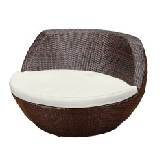 Seat Cushions For Wicker Chairs Racing Car Office Chair Australia Rattan Weave Garden Patio Designer Dining Set Egg Stackable Table | Ebay
