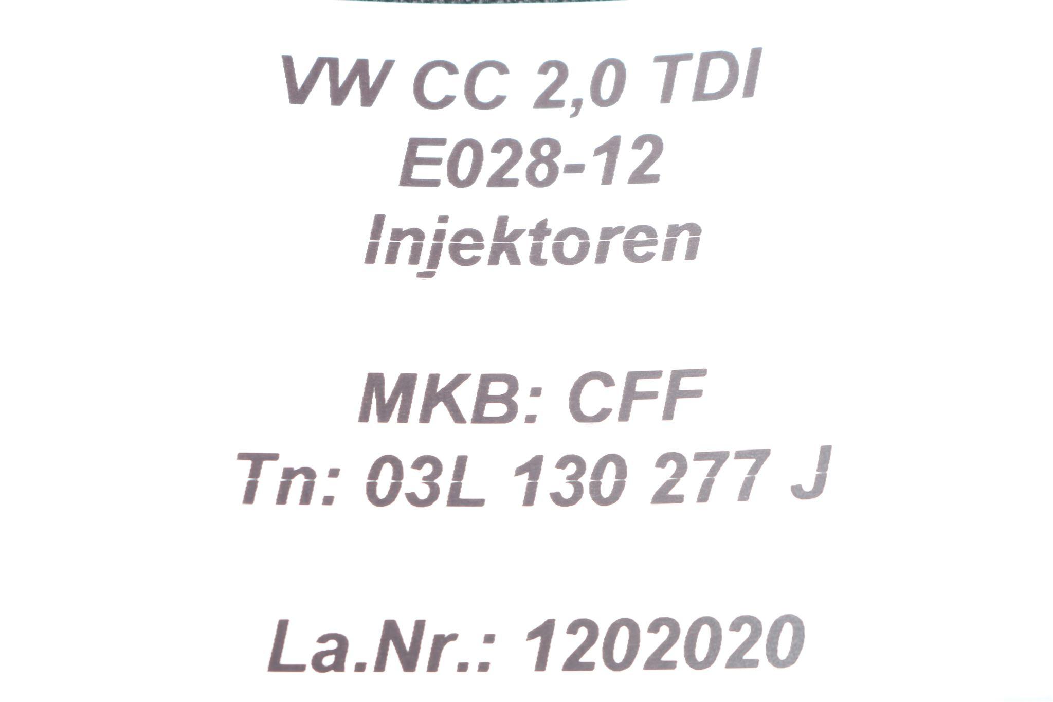 Cff Fuel Injector Nozzle Injection Unit 03l J Audi Q3
