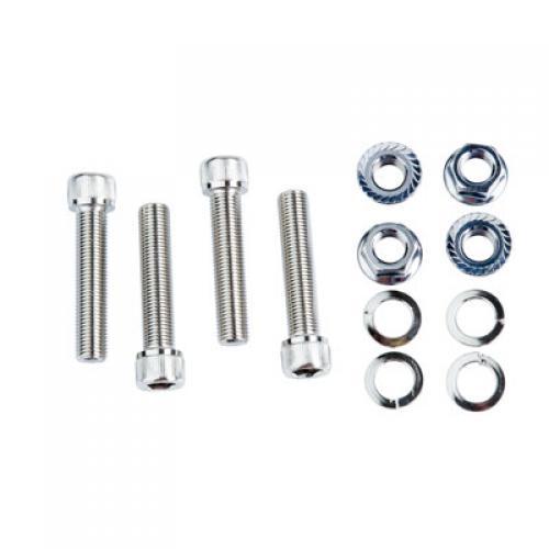 Tusk Aluminum Wheel Spacer Replacement Studs 45 mm ARCTIC