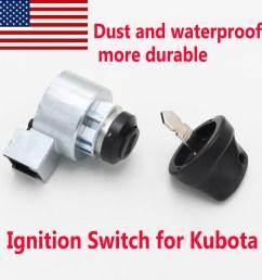 details about ignition switch with key for kubota b2100 b7500 b2400 b1700 b7510 6c040 55452 [ 1500 x 1500 Pixel ]