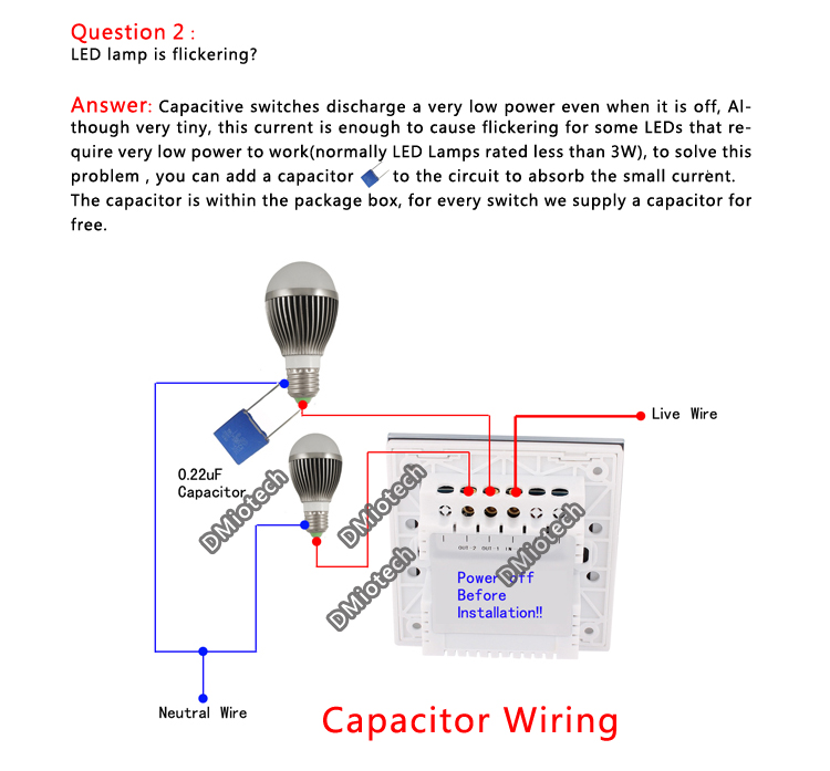 Replacing A Touch Lamp Control Unit Electrical Online