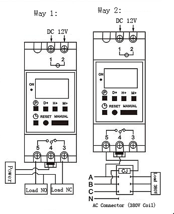 Din Rail Timer Wiring Diagram Free Download • Oasis-dl.co