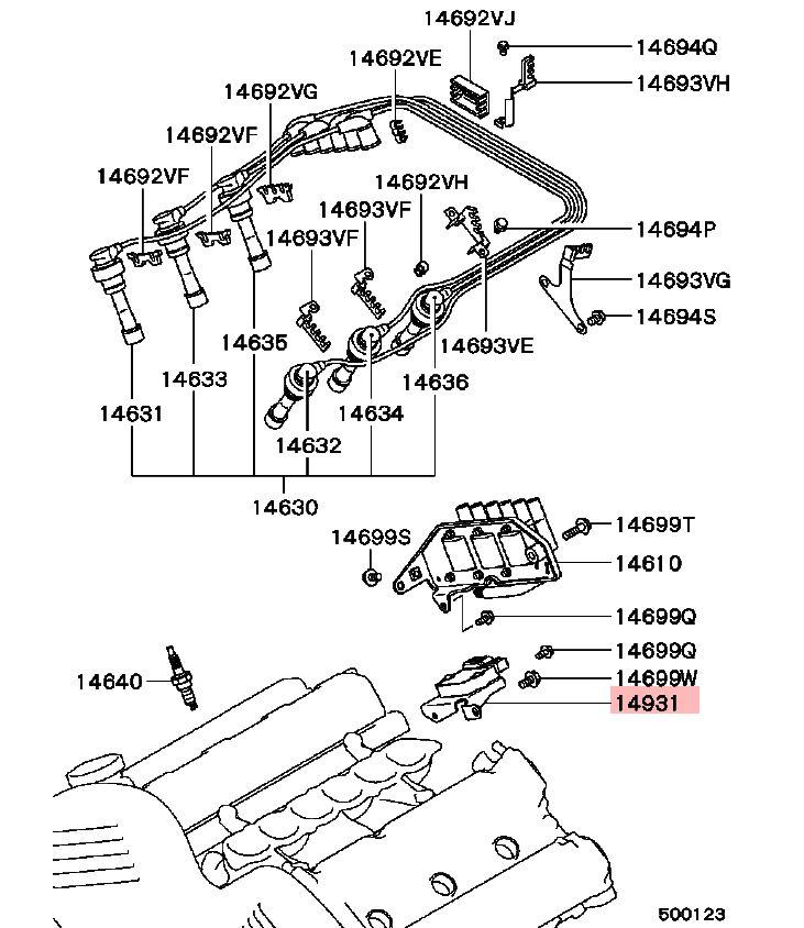MITSUBISHI OEM 91-99 3000GT Ignition-Power Transistor