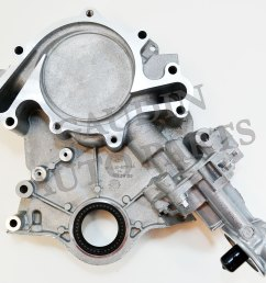 ford 4 6 timing chain diagram ford oem engine timing cover 4f2z6019ba [ 1600 x 1407 Pixel ]