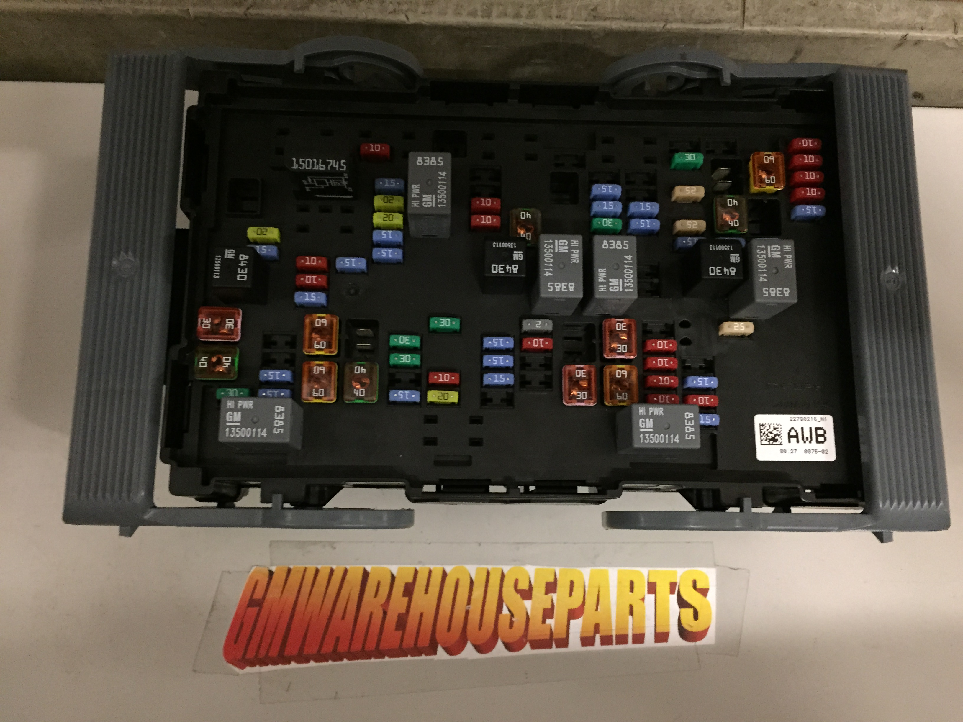 2008 Gmc Sierra 2500 Duramax Fuse Box Diagram