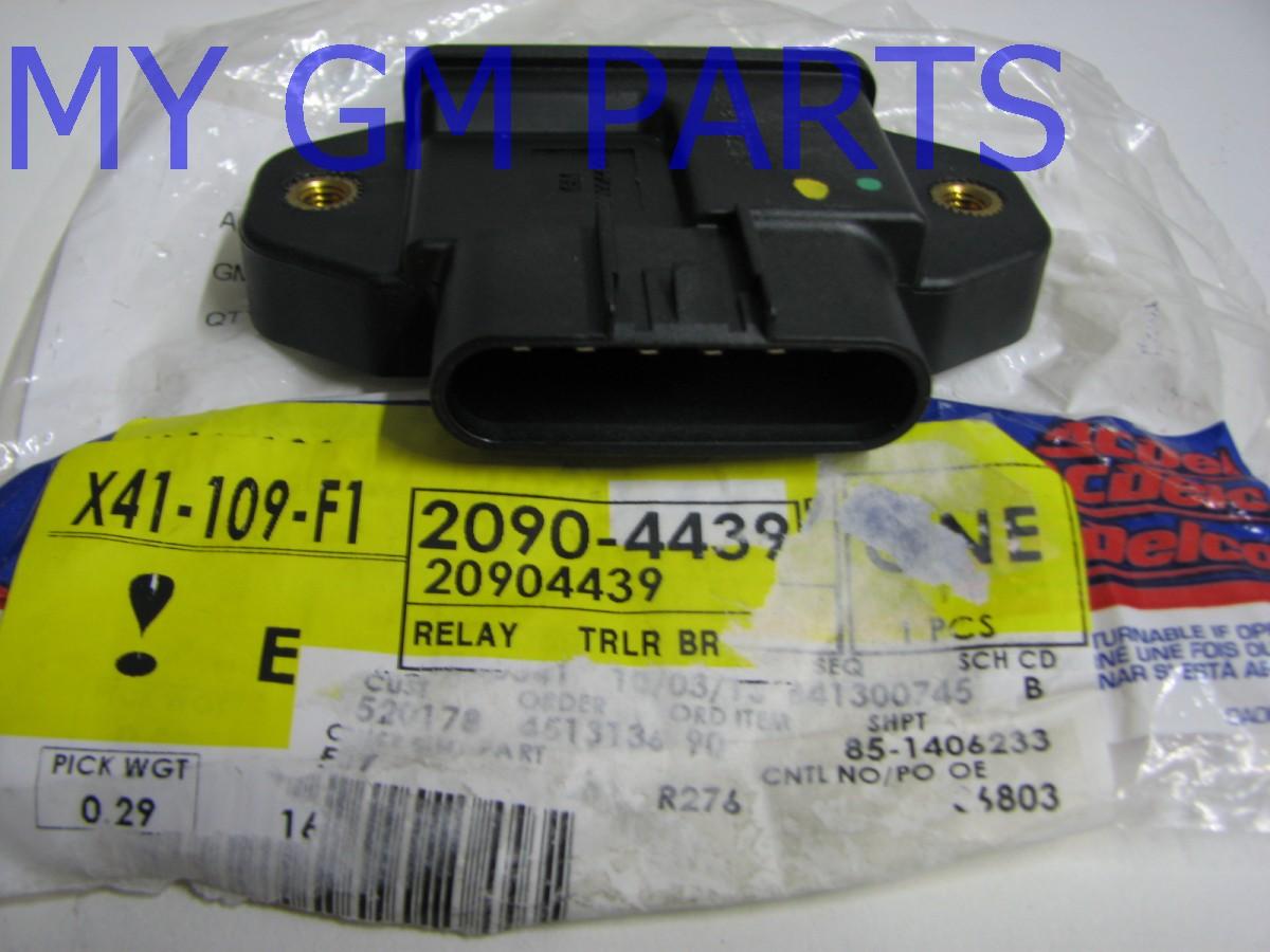 trailer brake warning chevy silverado cat 5 telefon sierra control relay 2007 2013 new