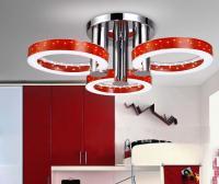 Modern LED Red Embedded Lamp Light Ceiling Pendant Lamp ...