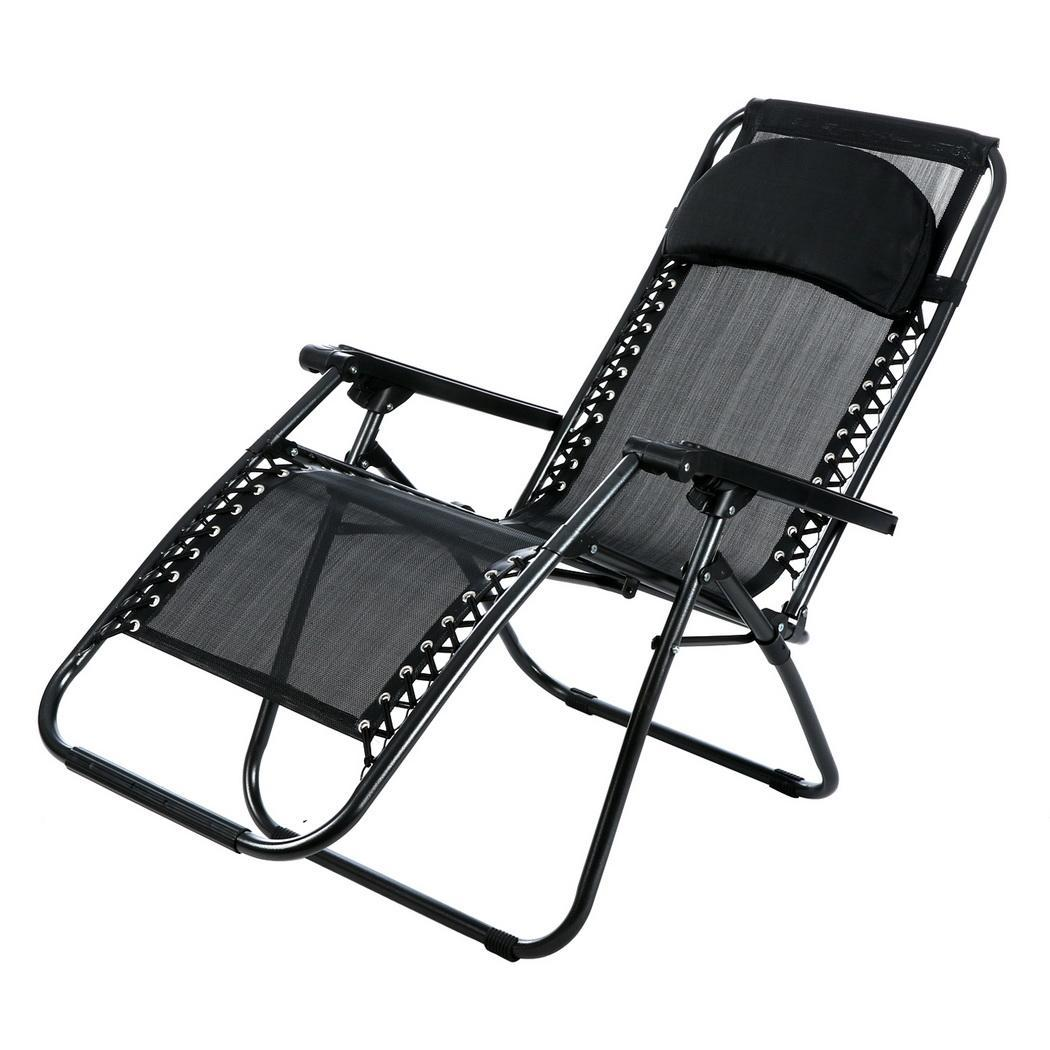 Folding Lounge Chairs Outdoor Zero Gravity Lounge Chair Beach Patio Folding