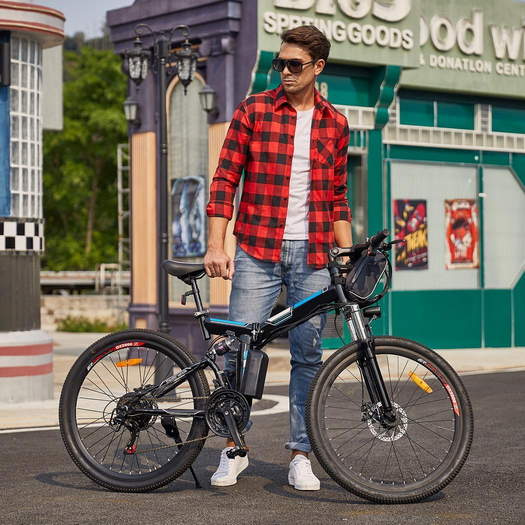 26 Folding Electric Mountain Bike Bicycle Ebike W