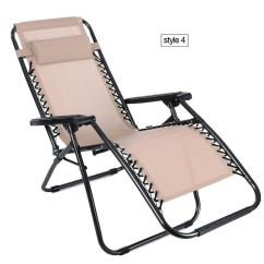 Patio Recliner Lounge Chair Rei Flexlite Heavy Duty Oversized Zero Gravity Textoline Chairs