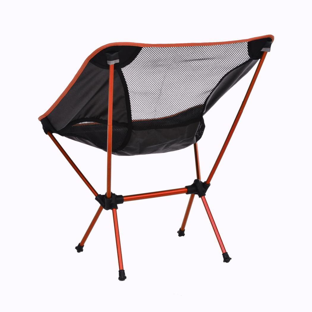 Portable Beach Chair Folding Seat Stool Portable Outdoor Fishing Camping Garden