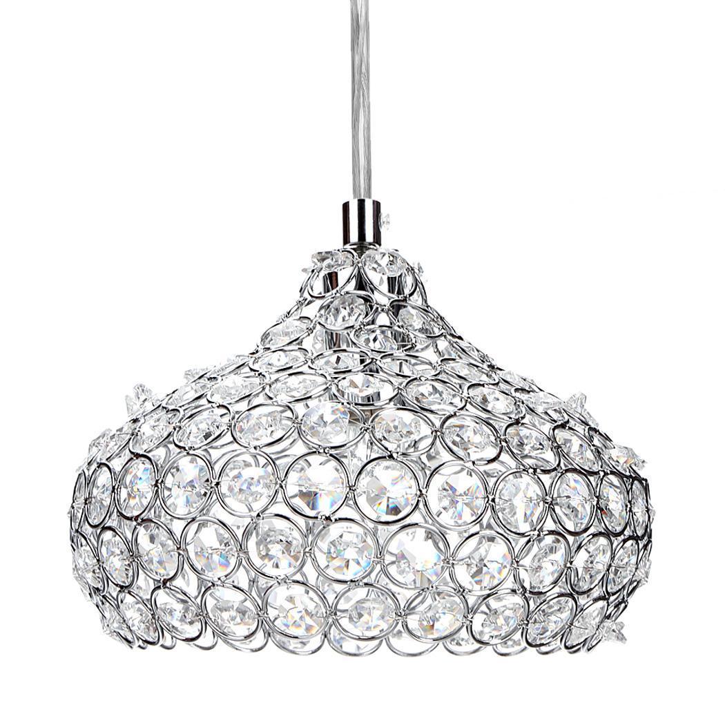 Crystal 1 Wine Glass Bar Chandelier Ceiling Light Pendant