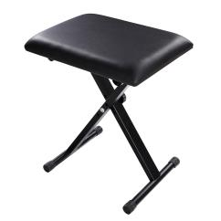 Folding Chair Rubber Feet Florence Dining Foldable Piano Keyboard Music X Style Bench Adjustable